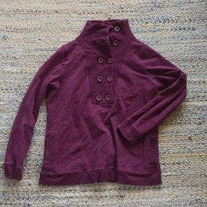Banana Republic Button Sweatshirt